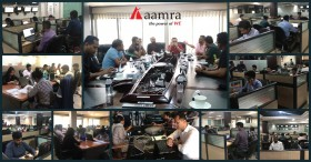 aamra team working in Safura